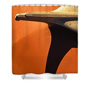 Chevy Hood Ornament Shower Curtain