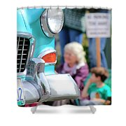 Chevy On Parade Shower Curtain