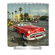 Chevy On The Prom  Shower Curtain