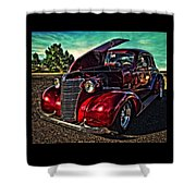 Chevy On The Run Shower Curtain