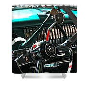 Chevy Powerglide Shower Curtain