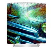 1953 Bel Air Chevy Project 2 Shower Curtain