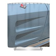 Chevy Scoops Shower Curtain