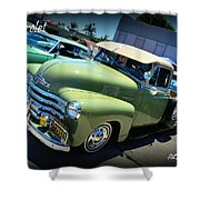 Chevy Truck Shower Curtain