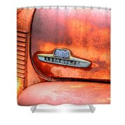 Chevy Truck Emblem Shower Curtain