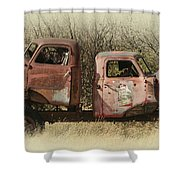 Chevy Vs Chevy Shower Curtain