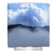 Cheyenne Mountain Shower Curtain