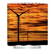 Cheyenne Sunrise Shower Curtain