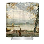 Cheyne Walk Shower Curtain