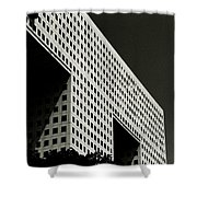 Chiaroscuro Construction Shower Curtain