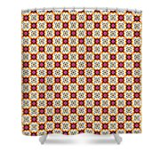 Chic Seamless Tile Pattern Shower Curtain