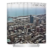 Chicago 2 Shower Curtain