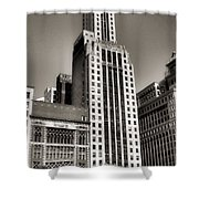 Chicago Architecture - 12 Shower Curtain
