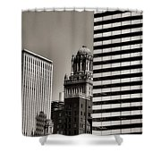 Chicago Architecture - 14 Shower Curtain
