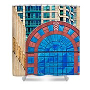 Chicago Place On N. Michigan Ave Shower Curtain
