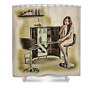 Chicago - Asian American Series Shower Curtain