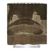 Chicago Bean Shower Curtain