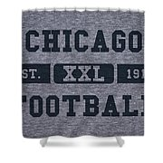 Chicago Bears Retro Shirt Shower Curtain