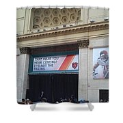 Chicago Bears Union Station Shower Curtain