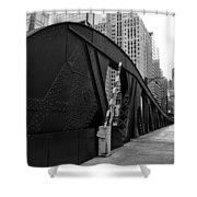 Chicago Bridge  Shower Curtain