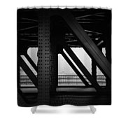Chicago Bridge Shower Curtain