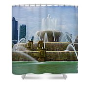 Chicago Buckingham Shower Curtain