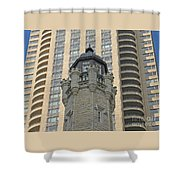 Chicago Contrast Shower Curtain