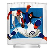 Chicago Cubs 1974 Program Shower Curtain