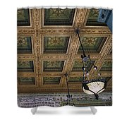 Chicago Cultural Center Staircase Ceiling Shower Curtain