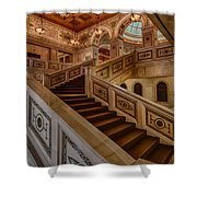 Chicago Cultural Center Stairs Shower Curtain