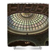 Chicago Cultural Center Tiffany Dome 01 Shower Curtain