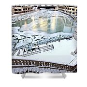 Chicago Downtown City  Shower Curtain