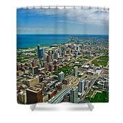 Chicago East View Shower Curtain