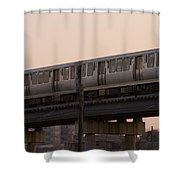 Chicago El Shower Curtain