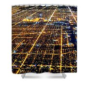 Chicago From Above 2 Shower Curtain