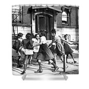 Chicago, Illinois, 1941 Shower Curtain