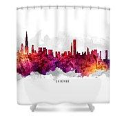 Chicago Illinois Cityscape 14 Shower Curtain