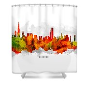 Chicago Illinois Cityscape 15 Shower Curtain