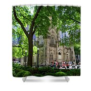 Chicago Jane Byrne Park In June Shower Curtain