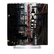 Chicago Loop, Goodman Theater Marguee Shower Curtain