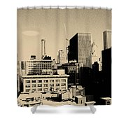 Chicago Loop Skyline Shower Curtain