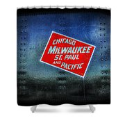 Chicago Milwaukee St. Paul And Pacific Shower Curtain