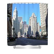 Chicago Miracle Mile Shower Curtain