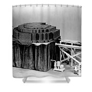 Chicago Pile-1, Scale Model Shower Curtain