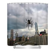 Chicago-room With A View Shower Curtain