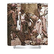 Chicago Shoeshine Boys - Pencil Shower Curtain