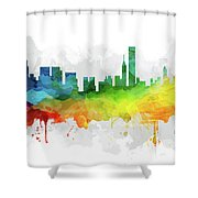 Chicago Skyline Mmr-usilch05 Shower Curtain