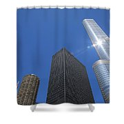 Chicago Skyscrapers  4 Shower Curtain