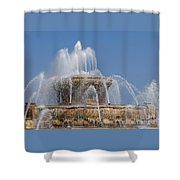 Chicago Splash Shower Curtain