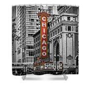 Chicago State Street Shower Curtain